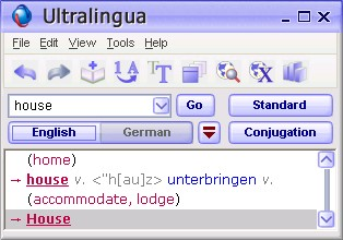 Screenshot Ultralingua